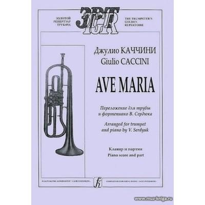 Ave Maria Для трубы и фортепиано.